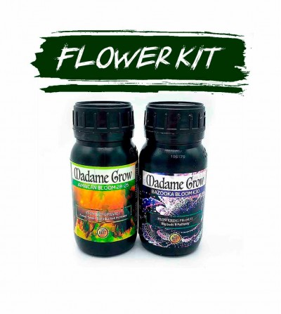 PACK FLOWER  - MADAME GROW 2 KIT