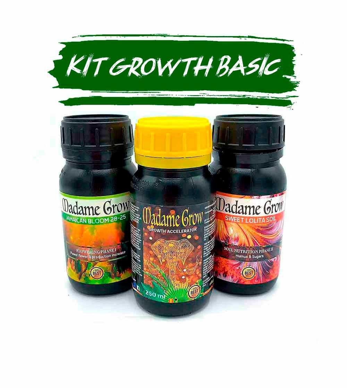kit fertilizantes para cultivo básico