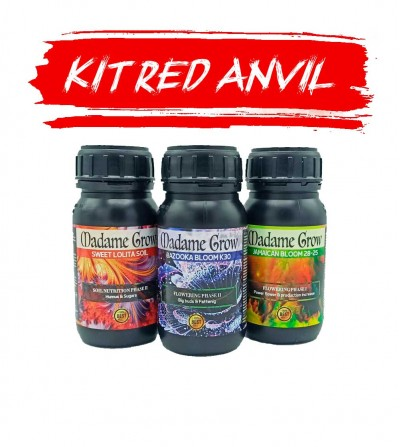 PACK RED ANVIL - 3KIT MADAMEGROW